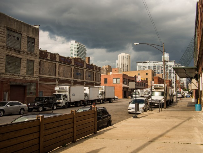Fulton Market area | © Edsel Little/Flickr