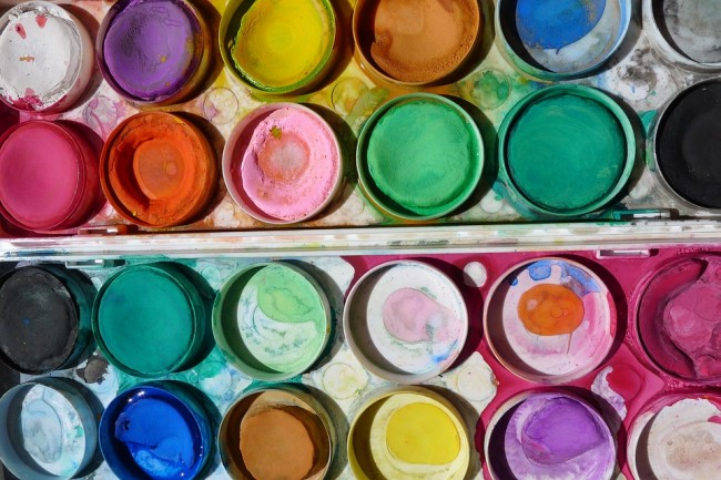 Watercolor paints | © VibeUp/Pixabay