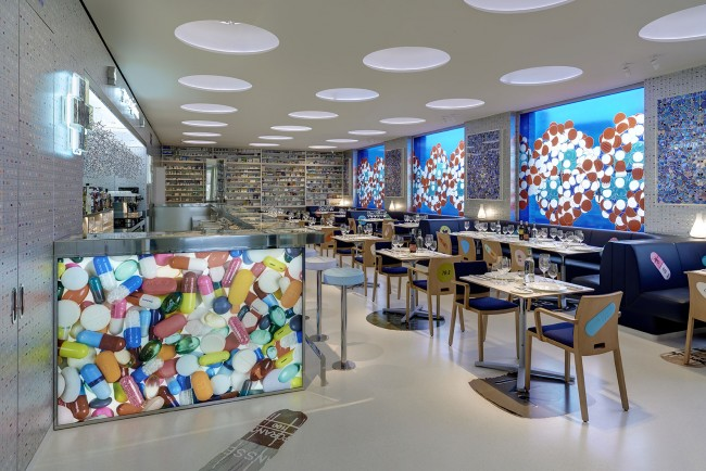 Pharmacy 2 interior Prudence Cuming Associates | © 2H Restaurant Ltd