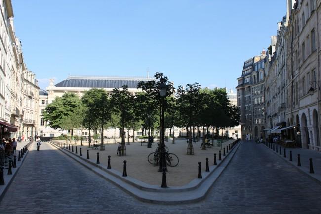 Square de la Dauphine|© Alexander Johmann/WikiCommons