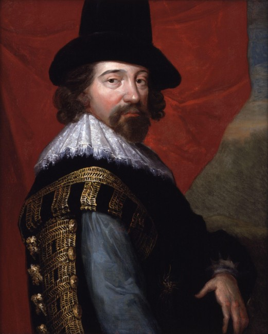 Portrait of Francis Bacon © wikicommons