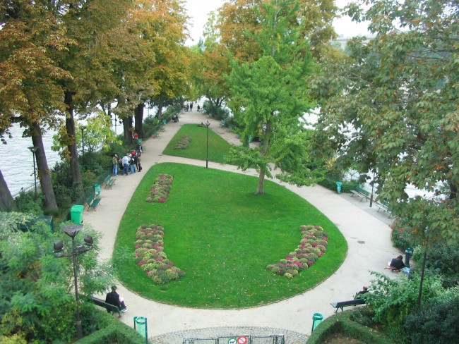 Square du Vert-Galant|© Tej/WikiCommons