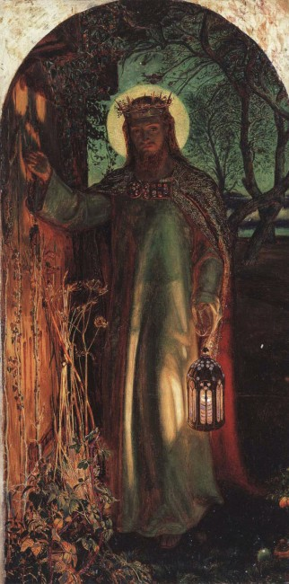 Holman Hunt, The Light of the World, 49.8 x 26.1 cm, Manchester Art Gallery, 1851-56 | © Dmitry Rozhkov/WikiCommons