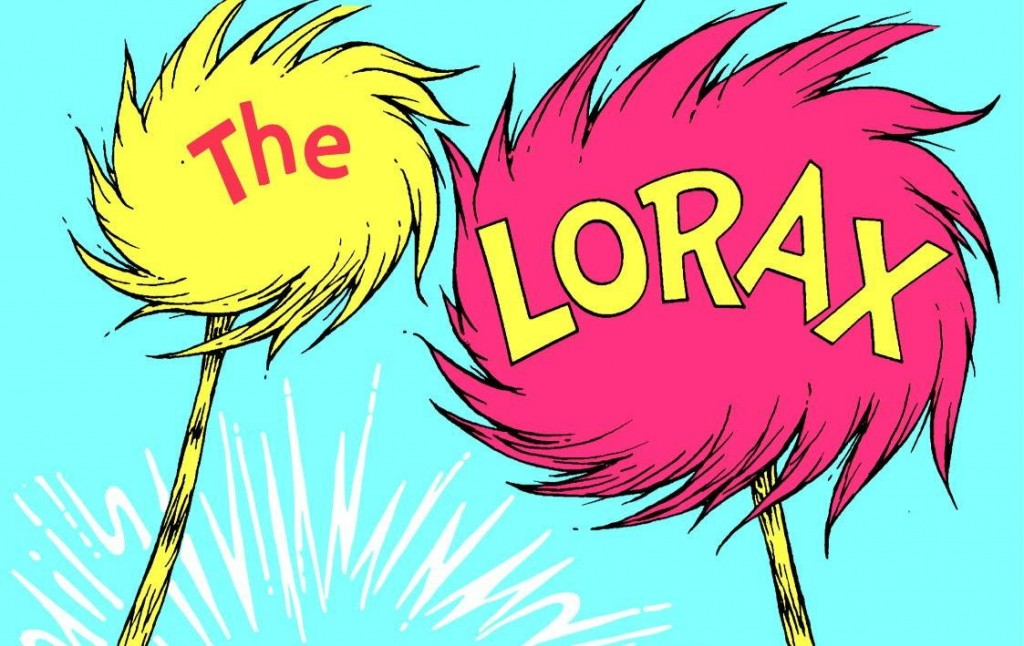 The cover of The Lorax