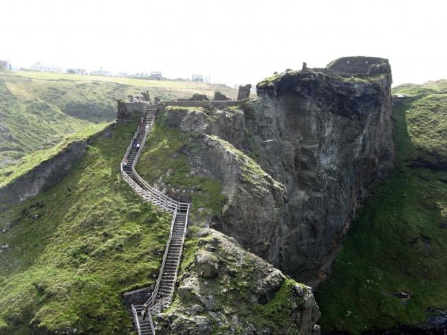 Tintagel Ruins   © WikiCommons