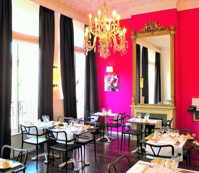 Wittamer cafe/Courtesy of Wittamer