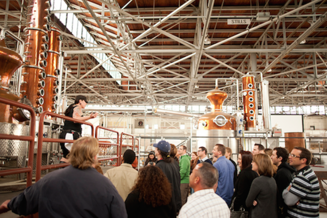 Distillery Tour | ©Ben Krantz, Courtesy of St. George