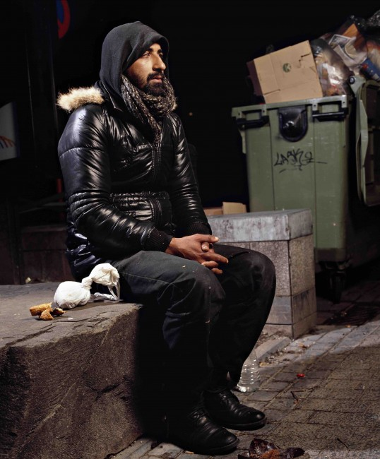 Omar Berradi, Denizens of Brussels series | © Andres Serrano/Courtesy of the Royal Museums of Fine Arts of Belgium