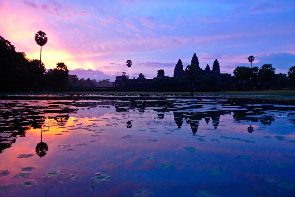Angkor Wat at Siem Reap © David Sim/WikiCommons