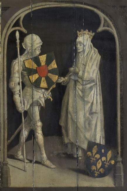 Baldwin I of Flanders and his wife Judith of France|© Wiki Commons/Beeldbank Kortrijk