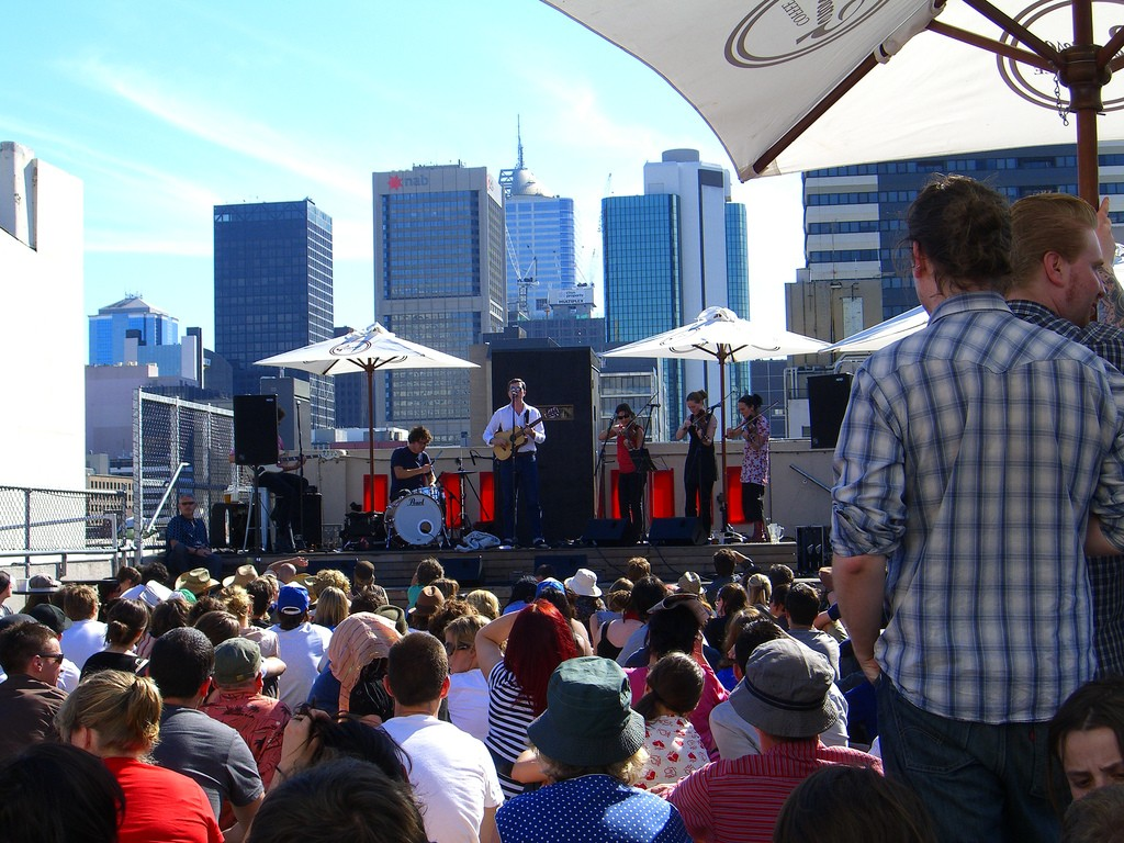 Bill Callahan @ Rooftop Bar, Melbourne © Susan Fitzgerald / Flickr