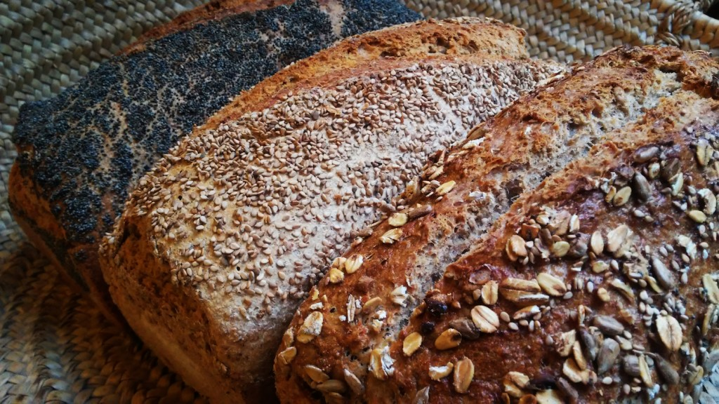 Whole wheat loaves | Courtesy of Barcelonareykjavik