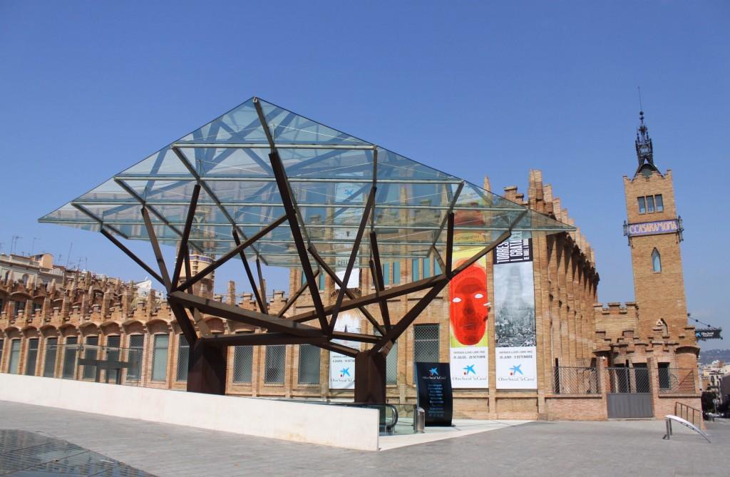 Caixa Forum, Entrance Area © Courtesy of Caixa Forum