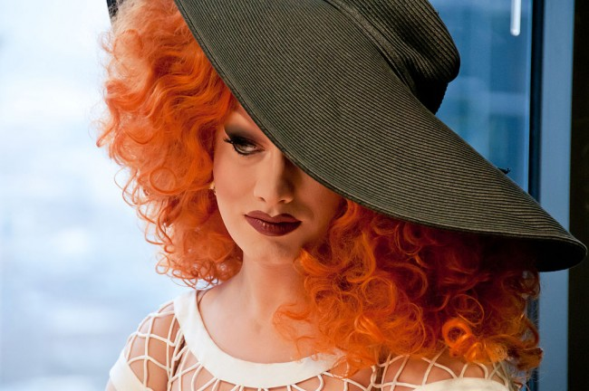 Jinkx Monsoon, winner of Rupaul's Drag Race Season 4 © Bronwen Houck/WikiCommons