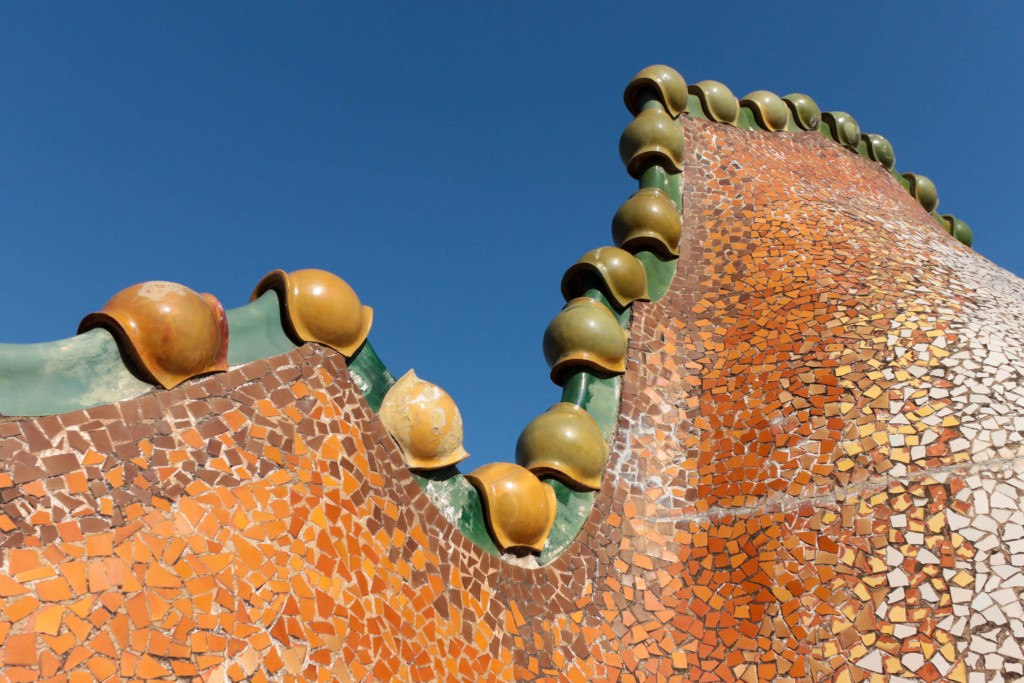 Casa Batlló, Roof Terrace © Céline Mülich