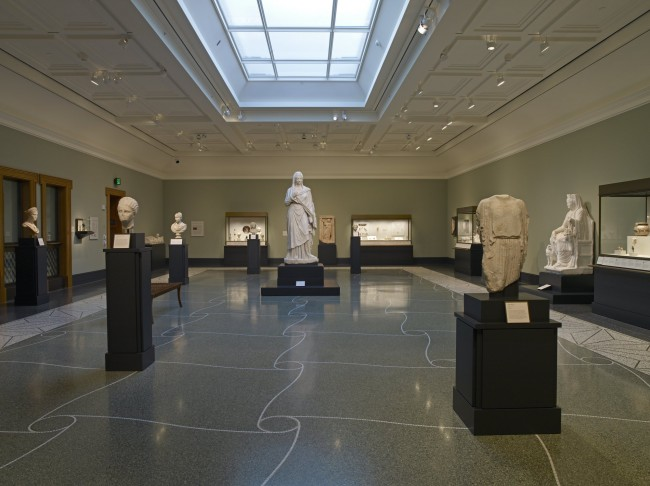 Women and Children Gallery at the Getty Villa Photo: Lisa Talbot © J. Paul Getty Trust
