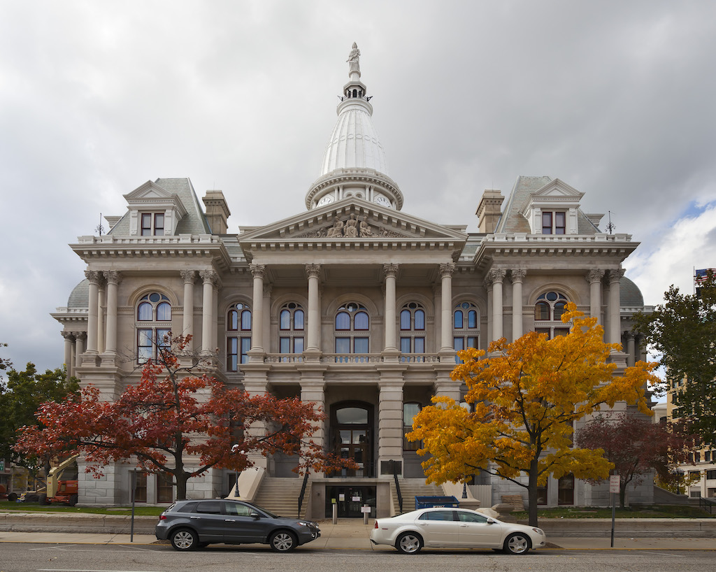Tippecanoe County Courthouse, Lafayette | © Diego Delso/WikiCommons