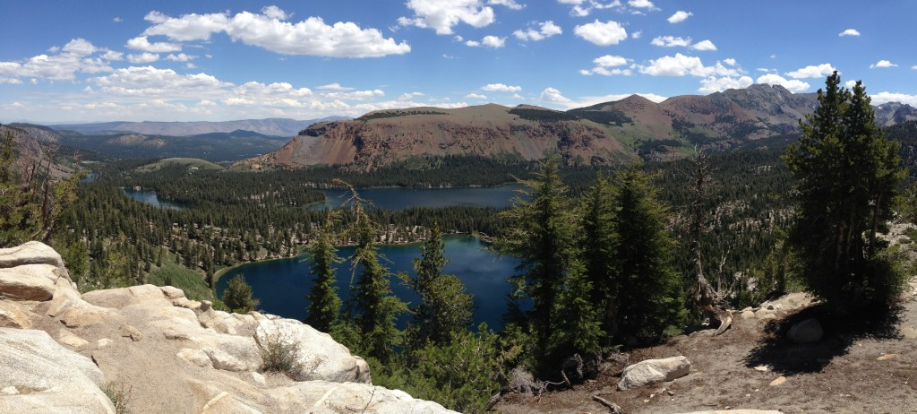 View of the Lakes Basin | © Addie Gottwald