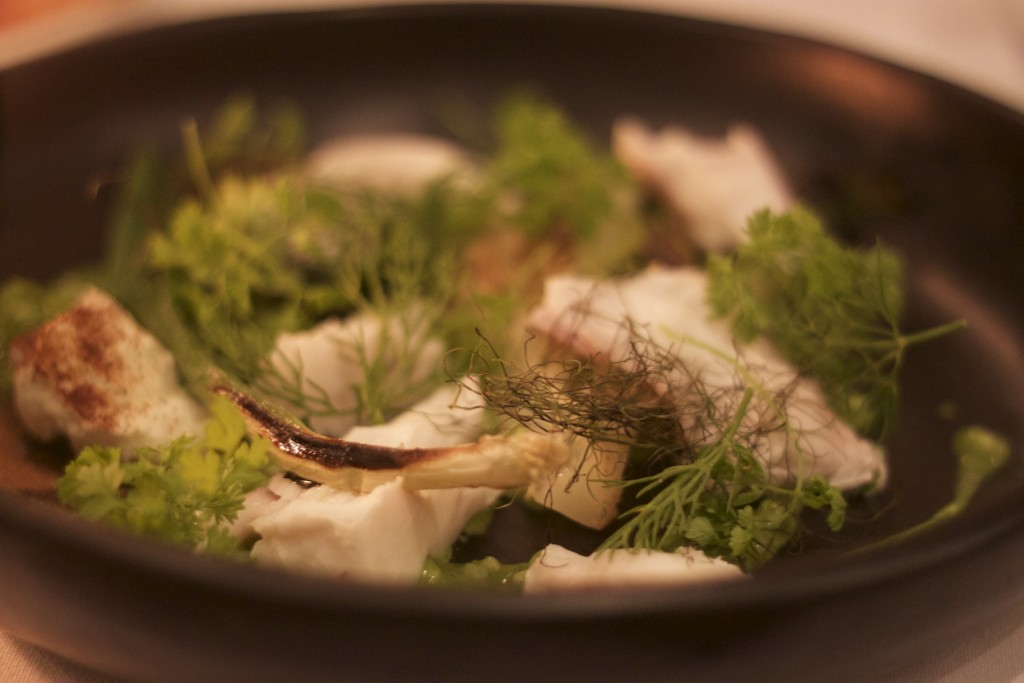 Local Seafood, Foraged Mushrooms and Greens at The Long Apron / ©Sally James