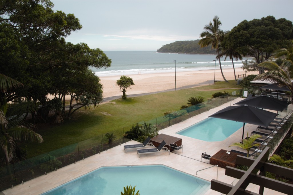 The View of Noosa Beach from Seahaven Noosa Resort / ©Sally James