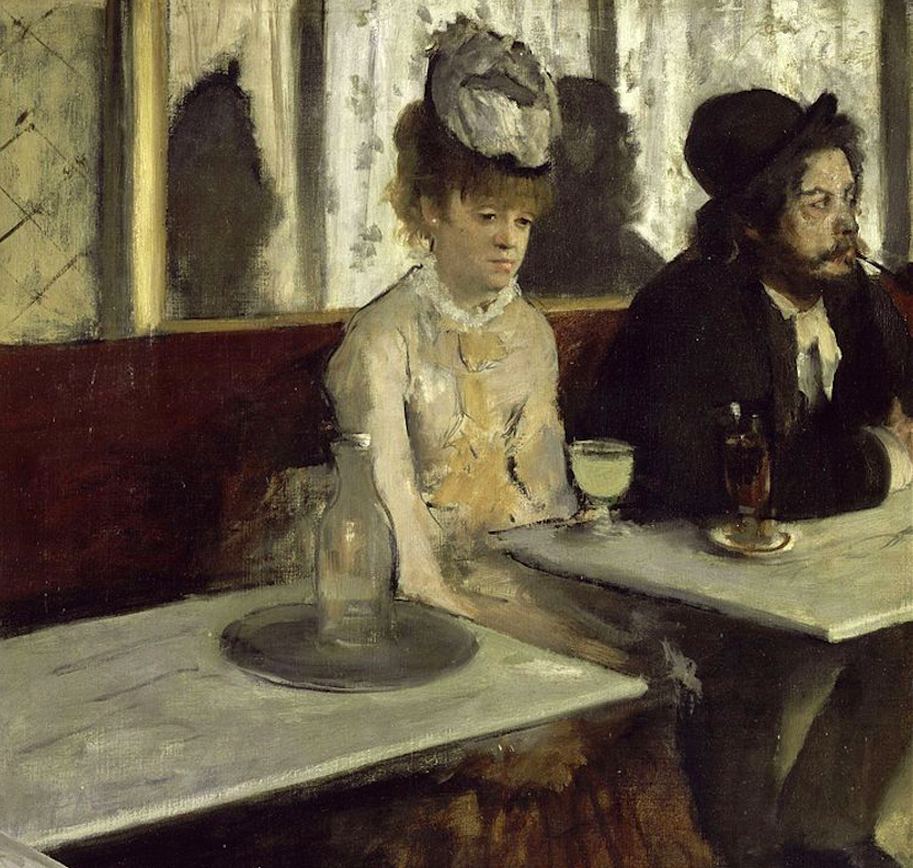 In a Café by Edgar Degas | © Google Art Project/WikiCommons