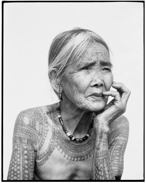 Fang-od Oggay (b.1920) © Jake Verzosa, 2011