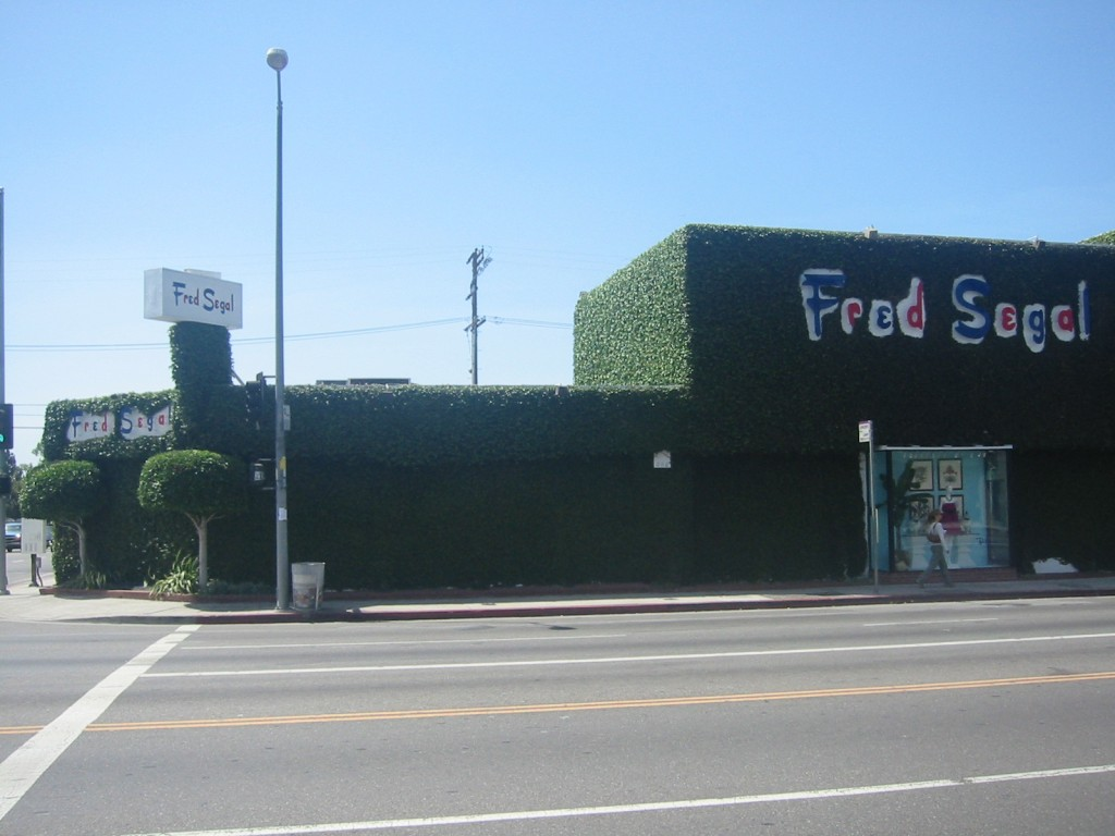Fred Segal on Melrose © Minnaert/Wikimedia Commons