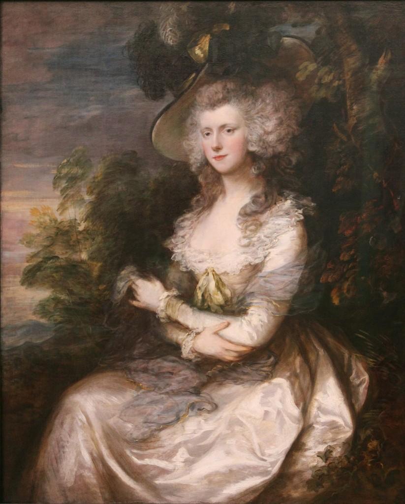 Mrs Thomas Hibbert © Thomas Gainsborough / WikiCommons