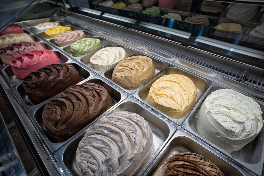 Flavor Selection | Courtest of Gelateria Uli