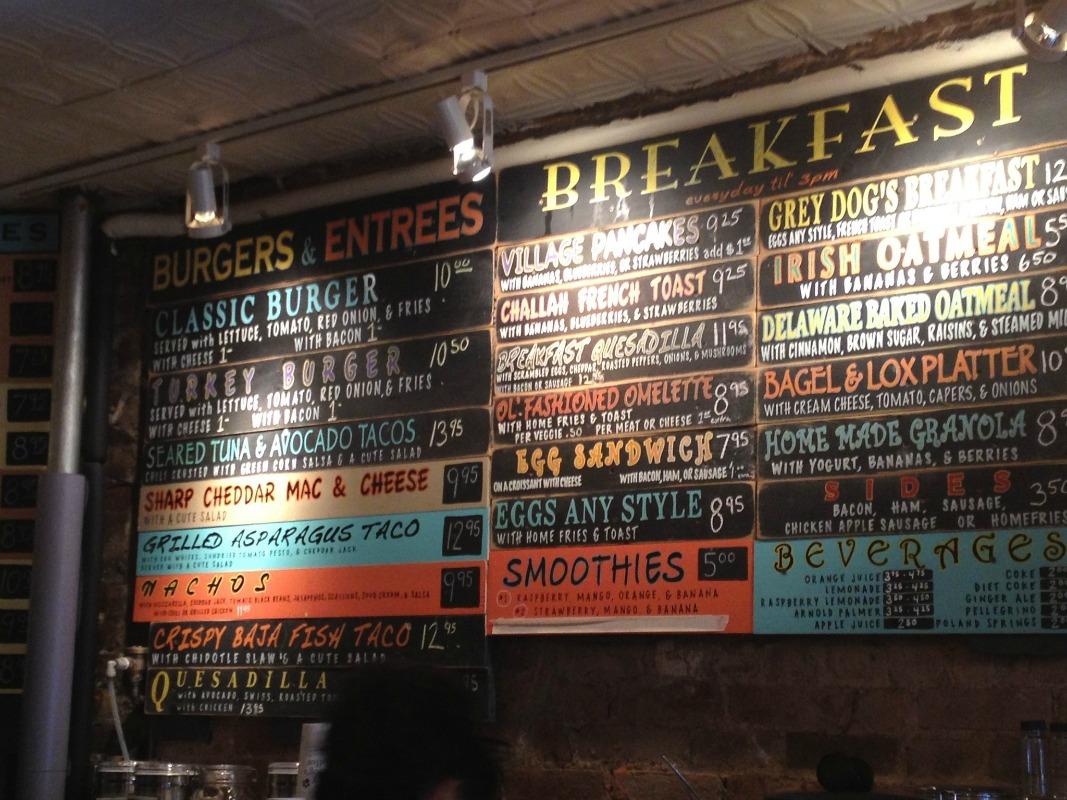 Grey Dog cafe in Chelsea, New York City, NY  © Stephanie McCratic/flickr