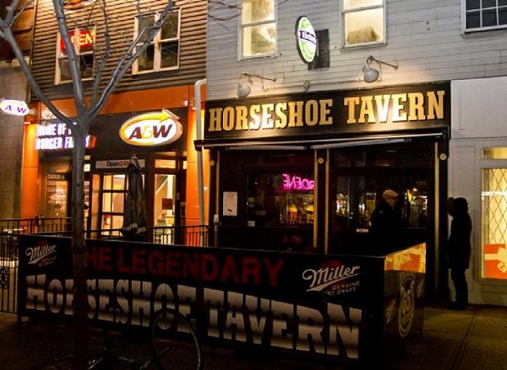 Courtesy of Horseshoe Tavern