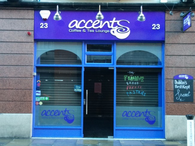 Accents Coffee and Tea Lounge | Courtesy of Accents Coffee and Tea Lounge