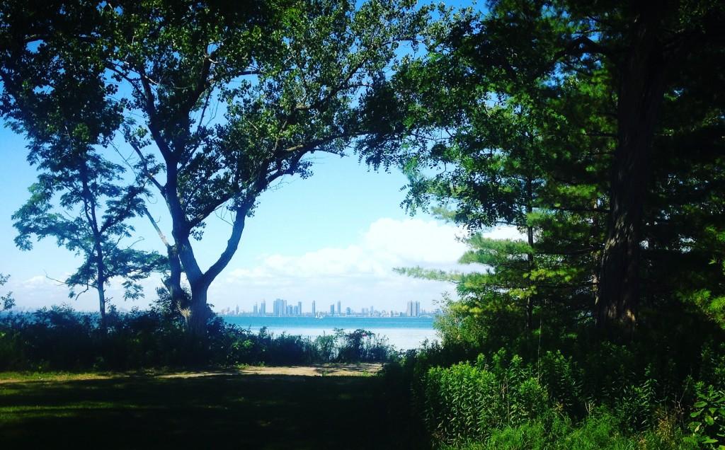 Toronto island mainland view | Nicole Egan