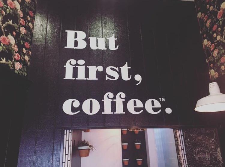 Inside Alfred Coffee © Alexa Ardeljan-Braden