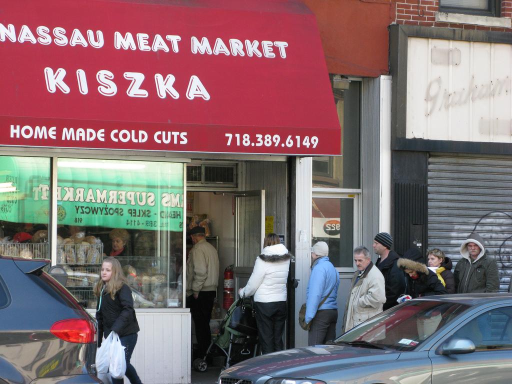 Kiszka Meat Market in Greenpoint| © Salon NYC/flickr