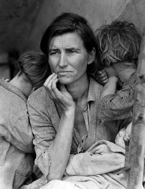 Migrant Mother by Dorothea Lange | © Dorothea Lange/Wikicommons