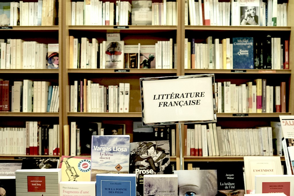 It offers a wide selection that includes a large range of French literature © Phil Roeder / Flickr