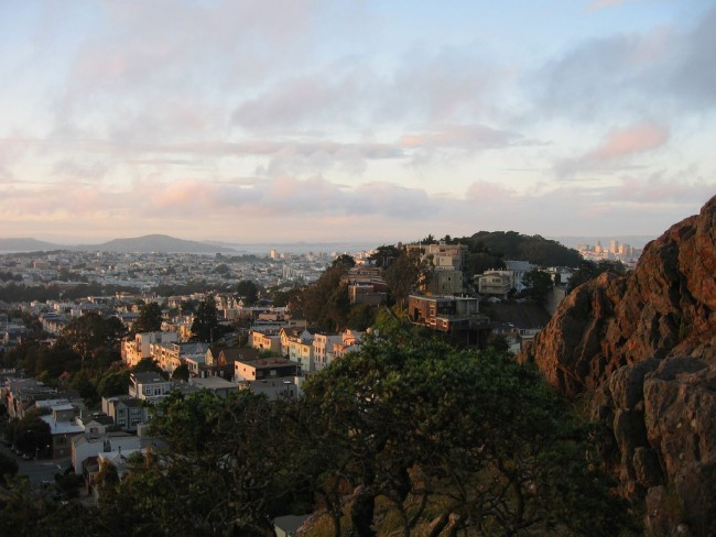 Looking Over Cole Valley © Robin Sloan/Flickr