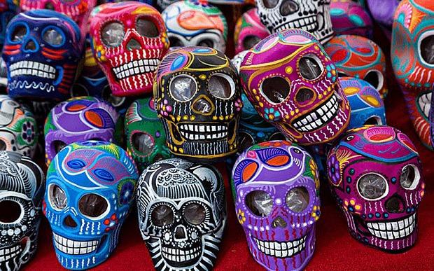 Day of the Dead Skulls   © Eva Rinaldi/Flickr