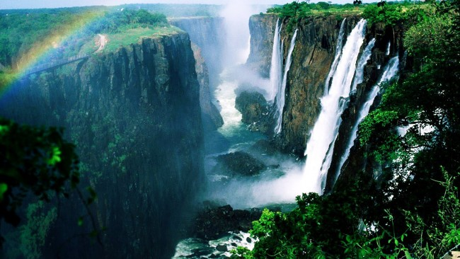 Victoria Falls | © Alf Kids Station/YouTube