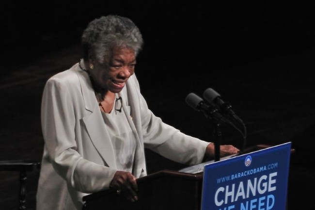 Maya Angelou © Talbot Troy/Flickr