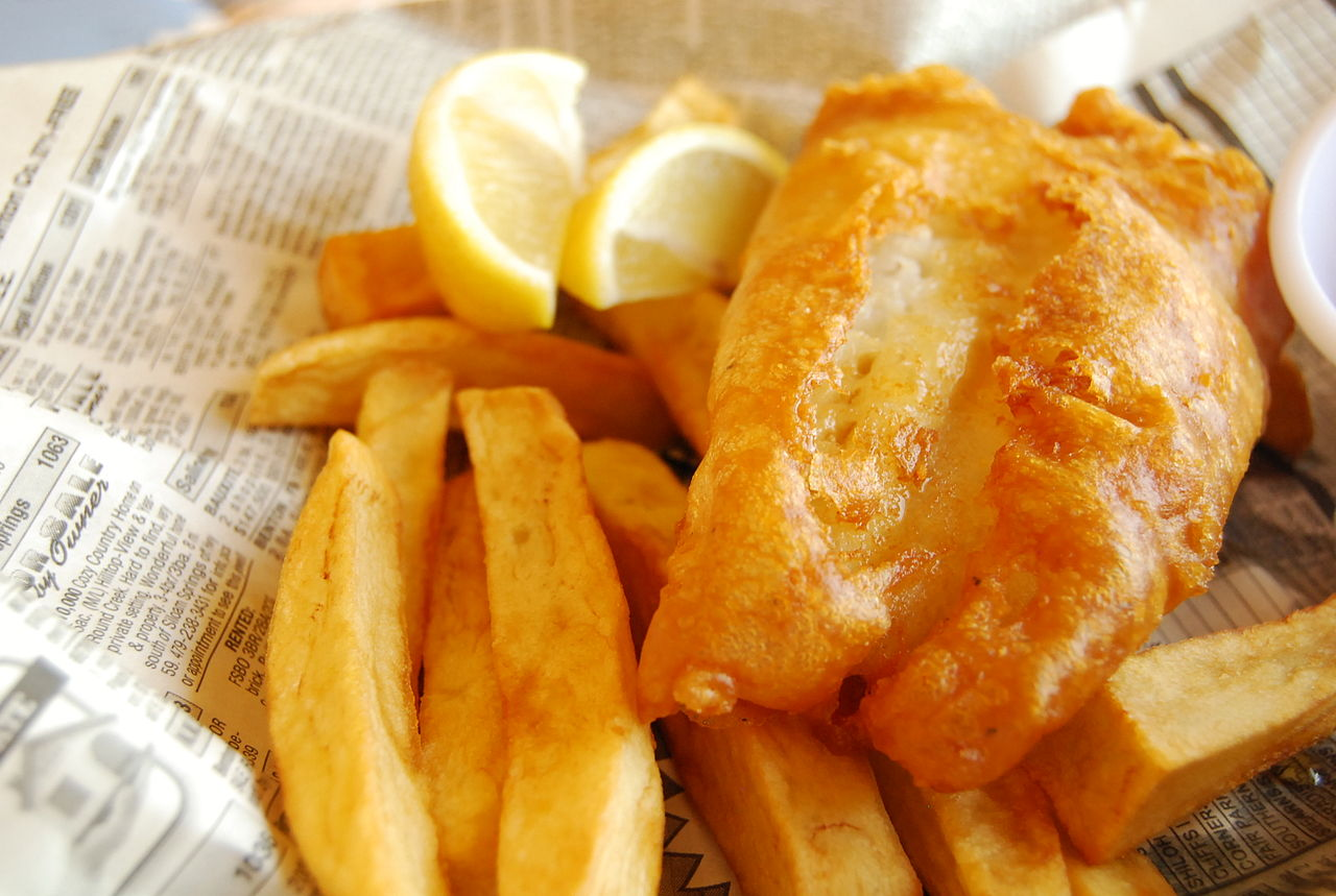 Modern fish and chips | © LearningLark/WikiCommons