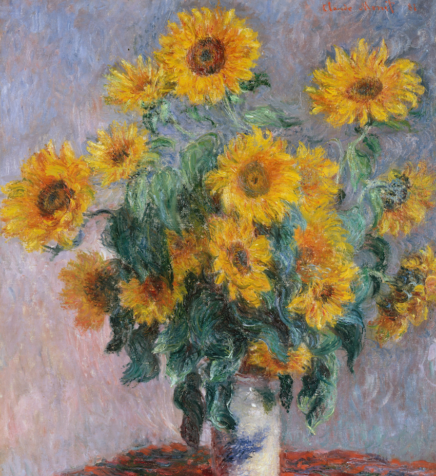 Bouquet of Sunflowers, 1880 © Carlos Rodriguez / Flickr