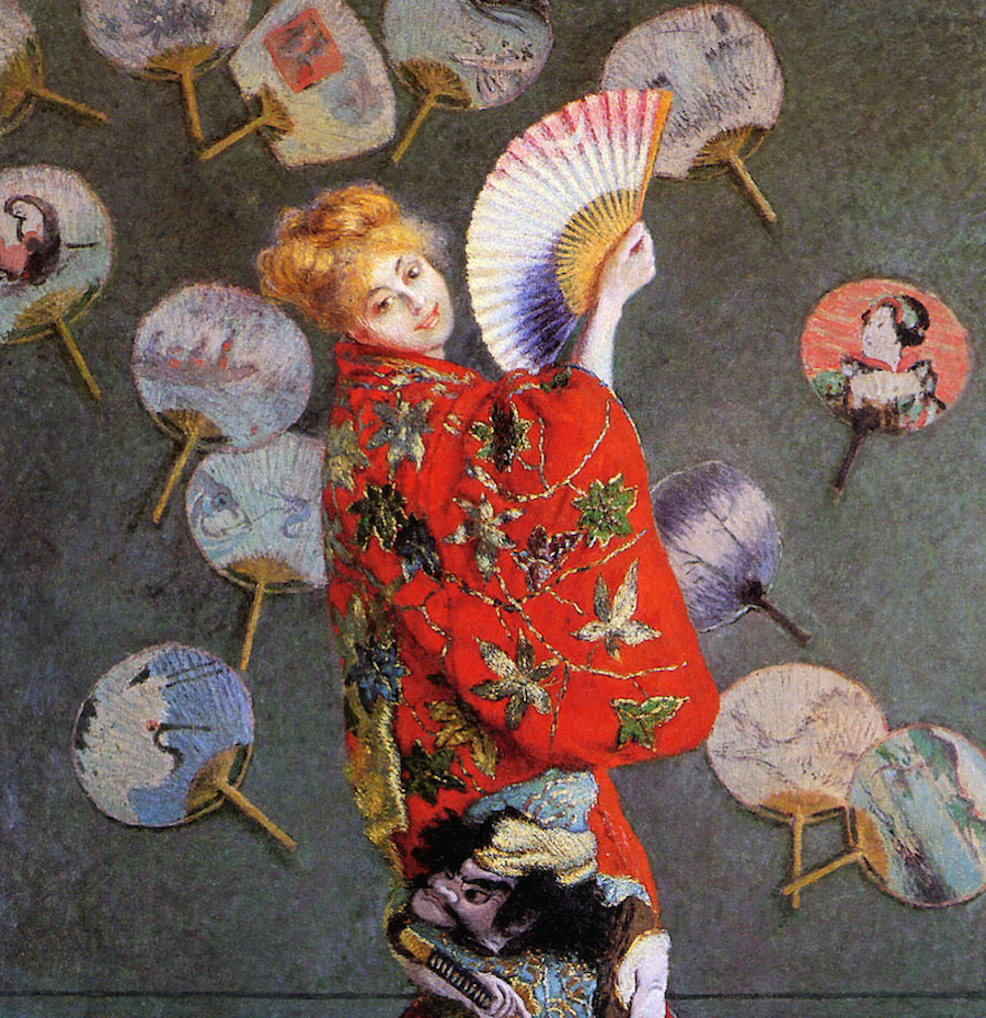 Madame Monet in Japanese Costume, 1876 © Art Gallery ErgsArt - by ErgSap / Flickr