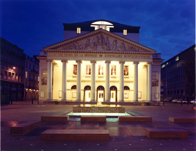 La Monnaie outside |Courtesy of La Monnaie © Johan Jacobs