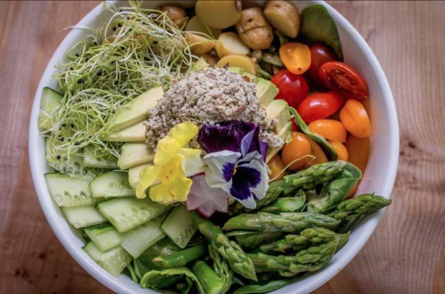 'Tuna Salad' at Nourish Cafe   Courtesy of Nourish Cafe