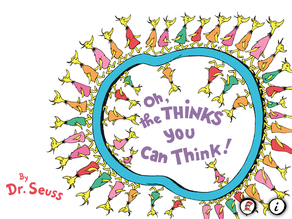 The Cover of Oh, the Thinks You Can Think! ©Random House