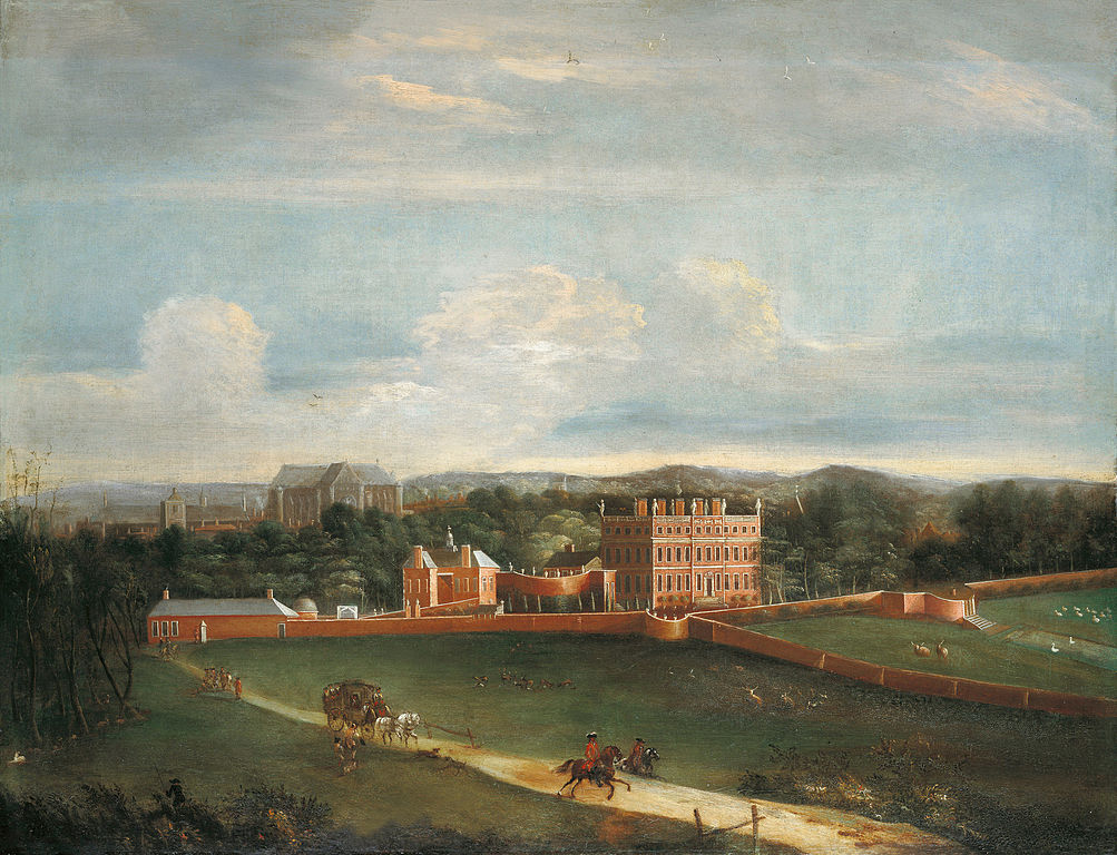 Buckingham House in 1703 | Royal Collection/Wikimedia Commons
