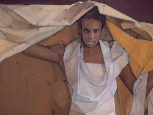 Passion of Christa, copyright Janet McKenzie