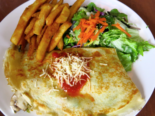 Classic Savory crepe at Crepevine © torbakhopper/flickr